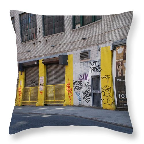 Architecture Throw Pillow featuring the photograph John Adams by Rob Hans