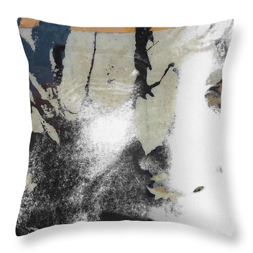 The Beatles Throw Pillow featuring the digital art John Lennon - In My Life by Paul Lovering