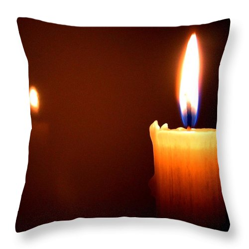 Reflection Throw Pillow featuring the photograph Joie De Vivre by Will Borden