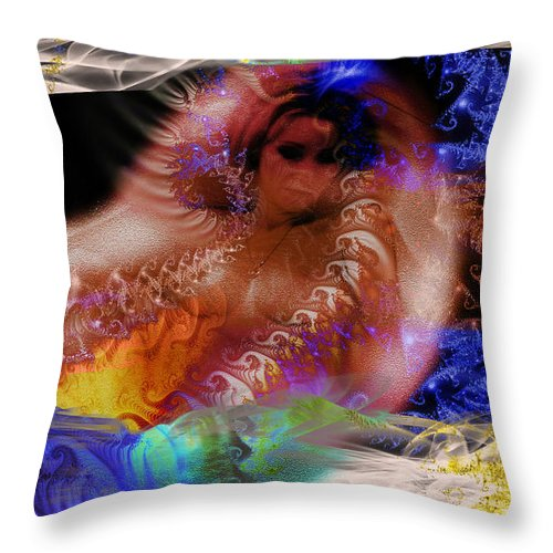 Clay Throw Pillow featuring the photograph Journey To The Centre Of Man's Mind by Clayton Bruster