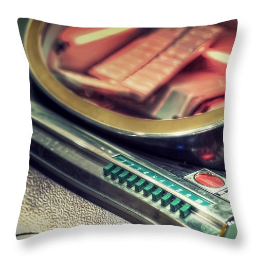 Jukebox Throw Pillow featuring the photograph Jukebox by Scott Norris