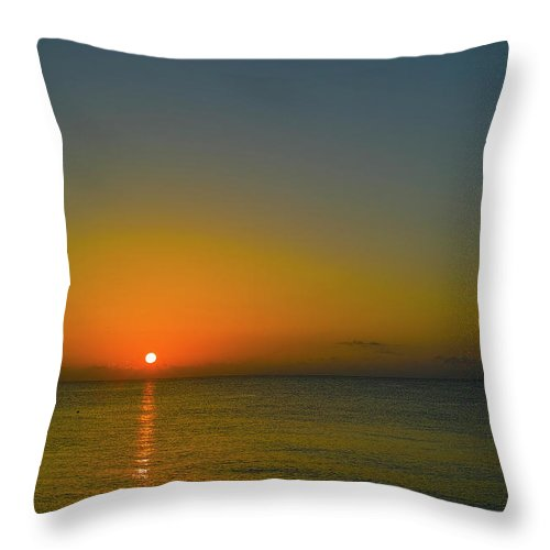 Sunrise Throw Pillow featuring the photograph Justified Narcissism by Roberto Aloi