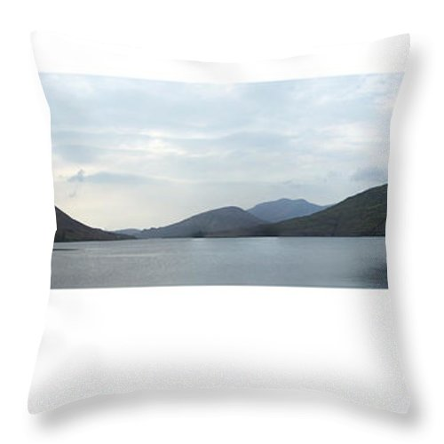Landscape Throw Pillow featuring the photograph Killary Harbour Leenane Ireland by Teresa Mucha