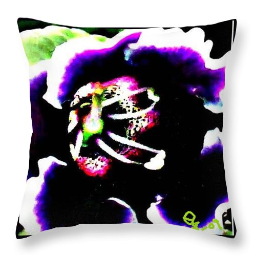 Flowers Throw Pillow featuring the digital art Kingwood Center 4 by Crystal Webb