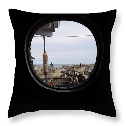 Kitty Hawk Throw Pillow featuring the photograph Kitty Hawk by Flavia Westerwelle