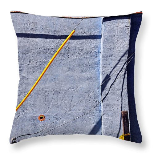 Skip Hunt Throw Pillow featuring the photograph Krishna Blue by Skip Hunt