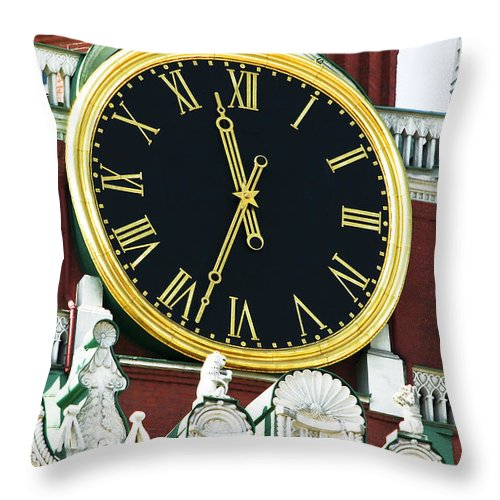Architecture Throw Pillow featuring the photograph Kuranti by Svetlana Sewell