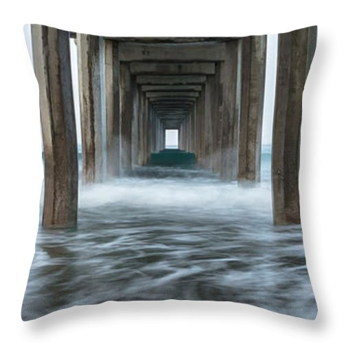 Throw Pillow featuring the photograph La Jolla by Ryan Smith