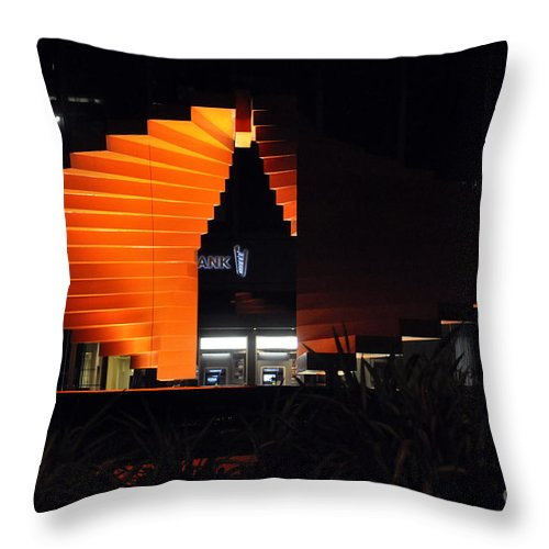 Clay Throw Pillow featuring the photograph L.a. Nights by Clayton Bruster