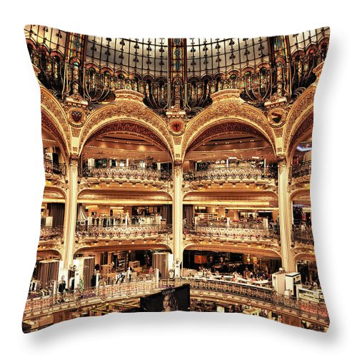 France Throw Pillow featuring the photograph Lafayette by Stefan Nielsen