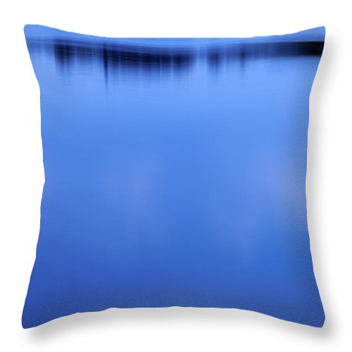 Lake Throw Pillow featuring the photograph Lake Illmensee by Silke Magino