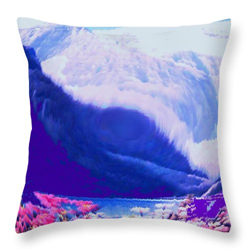 Lake Louise Throw Pillow featuring the photograph Lake Louise by Ian MacDonald