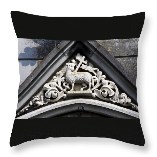 Ireland Throw Pillow featuring the photograph Lamb Of God by Teresa Mucha