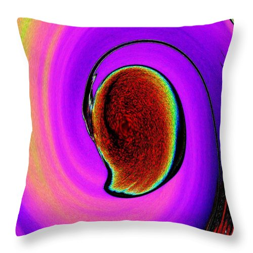 Lamp Throw Pillow featuring the photograph Lamp 2 by Tim Allen