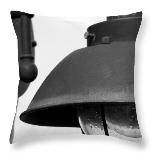Lamppost Throw Pillow featuring the photograph Lamp Post by Amanda Barcon