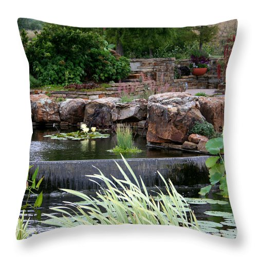 Botanical Throw Pillow featuring the photograph Land Of Enchantment by David Dunham