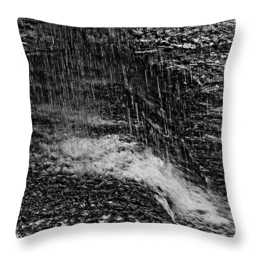 Falls Throw Pillow featuring the photograph Lava Falls by Michael Bessler