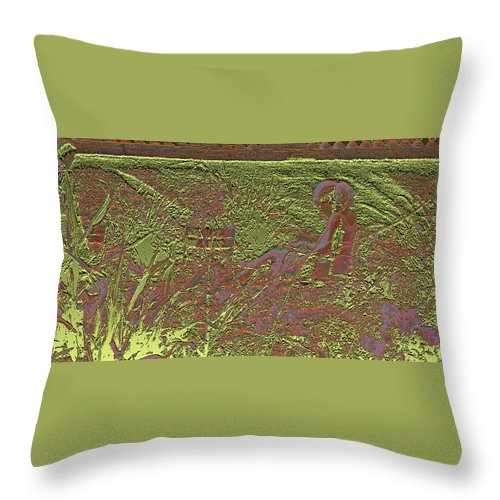 Luxembourg Garden Throw Pillow featuring the photograph Lazy Afternoon 1 by Marc Dettloff