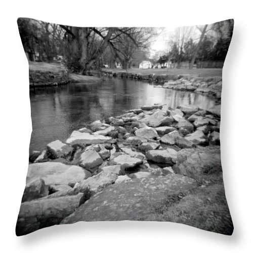 Photograph Throw Pillow featuring the photograph Le Tort Spring Run by Jean Macaluso