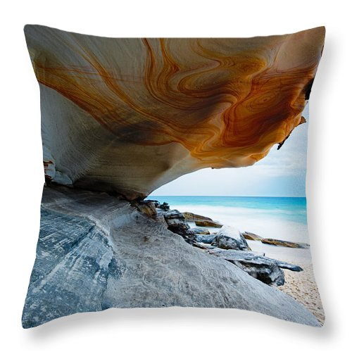 Andre Distel Throw Pillow featuring the photograph Leading Lines by Andre Distel