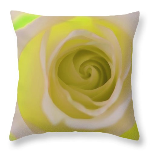 Throw Pillow featuring the photograph Lemon Lime Love by The Art Of Marilyn Ridoutt-Greene