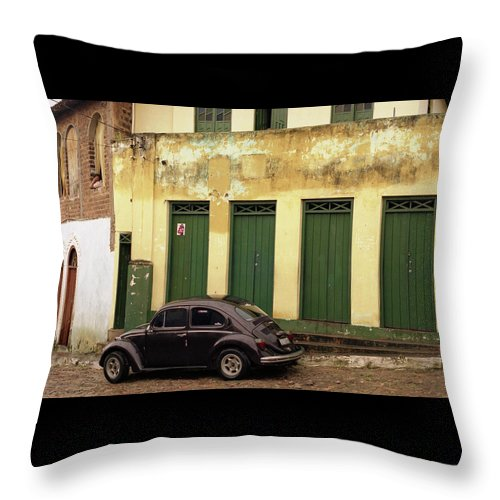 Bahia Throw Pillow featuring the photograph Lencois - Bug by Patrick Klauss