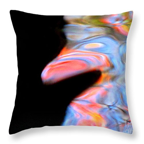 Abstract Throw Pillow featuring the photograph Let It Be Me by Sybil Staples