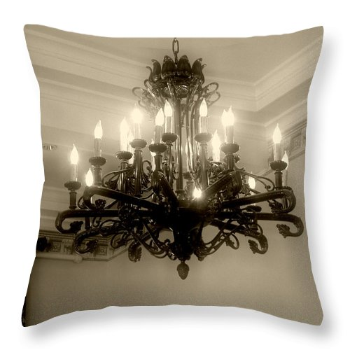 Antique Throw Pillow featuring the photograph Let There Be Light by RC DeWinter