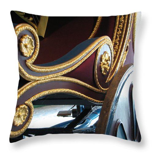 O'connell Throw Pillow featuring the photograph Liberator by Kelly Mezzapelle