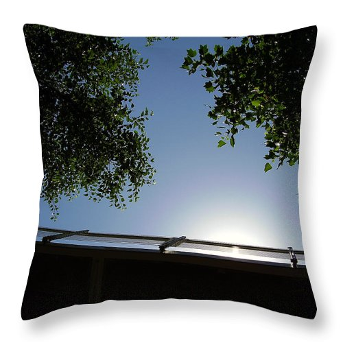 Liberty Bridge Throw Pillow featuring the photograph Liberty Bridge by Flavia Westerwelle