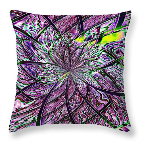 Library Throw Pillow featuring the photograph Library Abstract 2 by Tim Allen