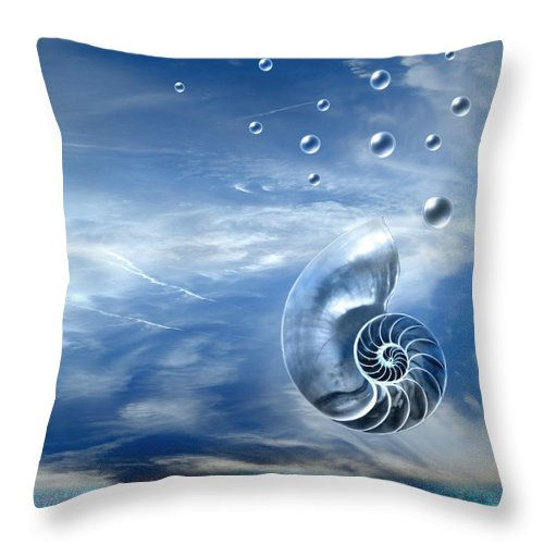 Surreal Throw Pillow featuring the photograph Life by Jacky Gerritsen