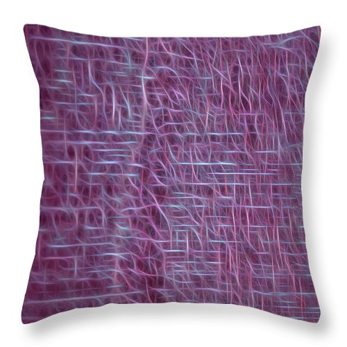 Throw Pillow featuring the photograph Lifelines Design by Carolyn Truchon