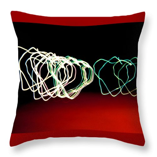 Heart Throw Pillow featuring the photograph Light Hearted by M Pace