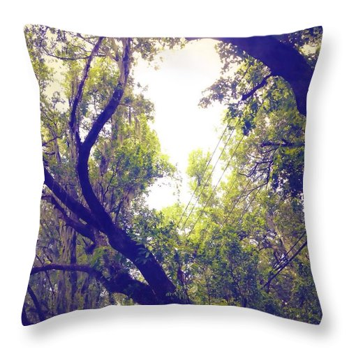 Light Throw Pillow featuring the photograph Light Of Hope by Linda Hammad