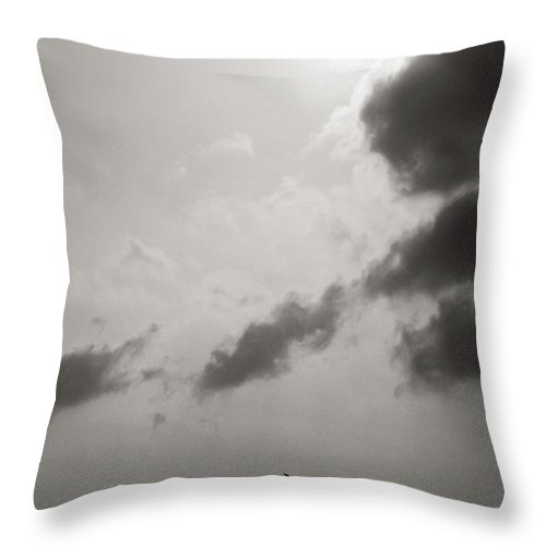 Abstract Throw Pillow featuring the photograph Light Of The Sky by Konstantin Dikovsky
