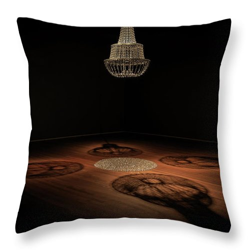 Throw Pillow featuring the photograph Light Shadow by Babak Sabooniha