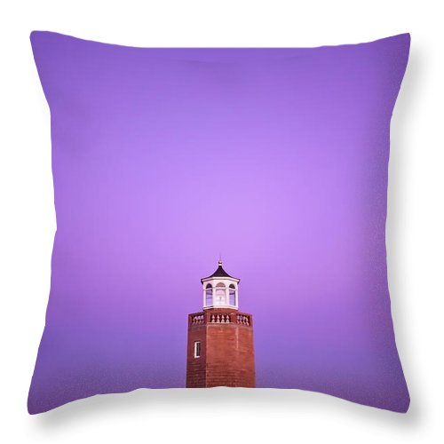 Avery Point Throw Pillow featuring the photograph Light Switch by Evelina Kremsdorf