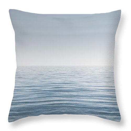Water Throw Pillow featuring the photograph Limitless by Scott Norris