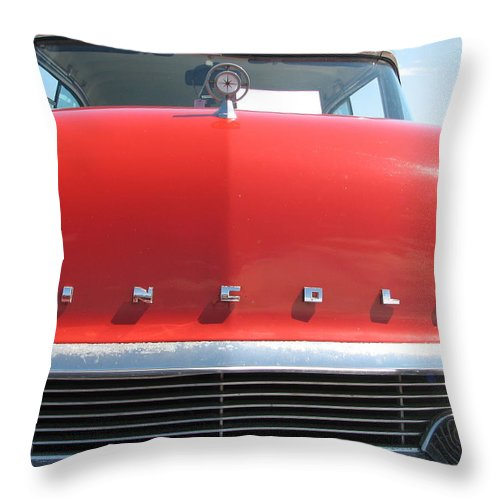 Lincoln Throw Pillow featuring the photograph Lincoln by Kelly Mezzapelle