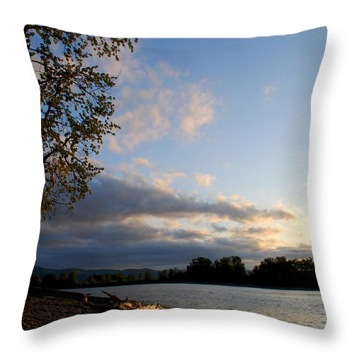 Becky Furgason Throw Pillow featuring the photograph #listentoyourowntruth by Becky Furgason