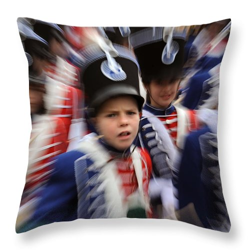 Spain Throw Pillow featuring the photograph Little Soldiers Vii by Rafa Rivas