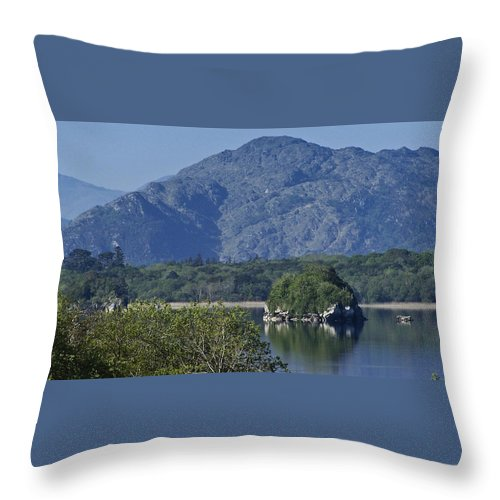 Irish Throw Pillow featuring the photograph Loch Leanne Killarney Ireland by Teresa Mucha