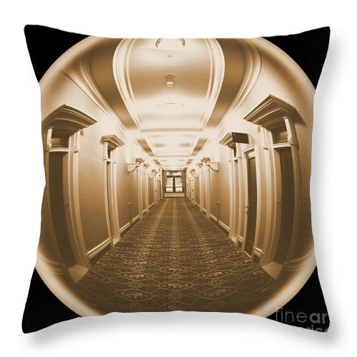 Looking Out Throw Pillow featuring the photograph Looking Out by Carol Groenen