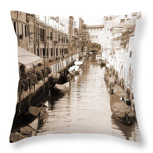 Old Times Throw Pillow featuring the photograph Looks Like Old Times by Donna Corless