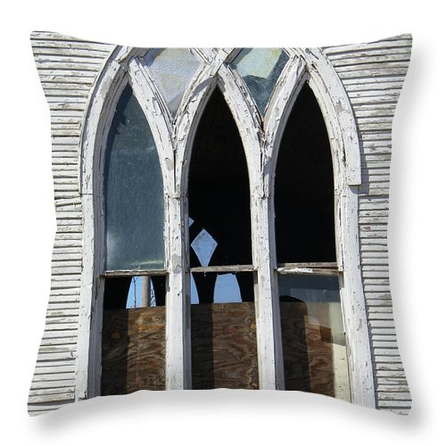 Church Throw Pillow featuring the photograph Lost by Gale Cochran-Smith