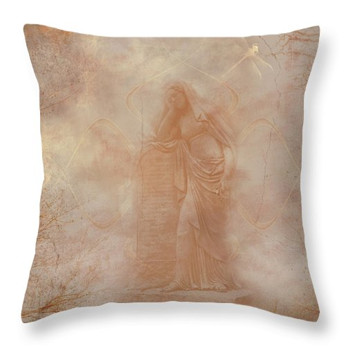 Lost Throw Pillow featuring the digital art Lost by Robert Adelman