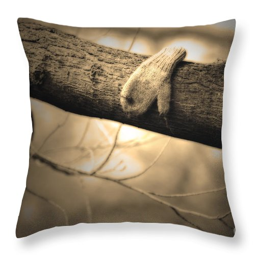 Lost Throw Pillow featuring the photograph Lost Without You by Cathy Beharriell