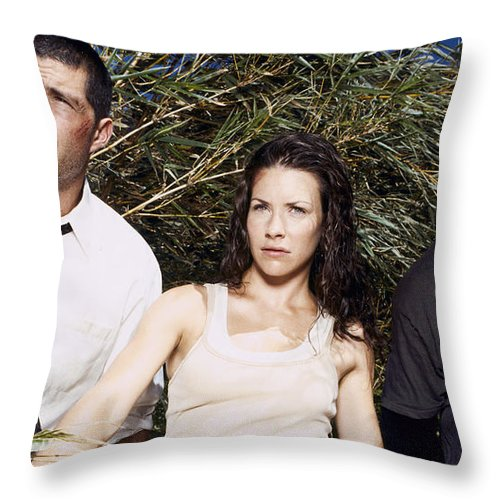 Lost Throw Pillow featuring the digital art Lost by Zia Low