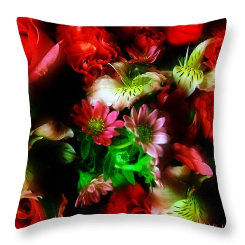 African Daisies Throw Pillow featuring the photograph Loud And Proud by RC DeWinter